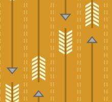 Arrows_Mustard Sticker