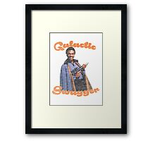 Galactic Swagger with Lando Calrissian Framed Print