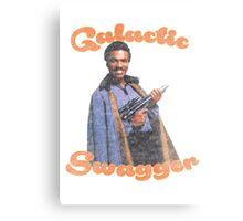 Galactic Swagger with Lando Calrissian Metal Print