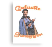 Galactic Swagger with Lando Calrissian Canvas Print
