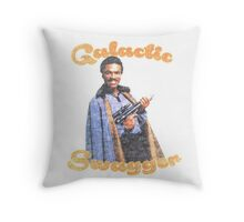 Galactic Swagger with Lando Calrissian Throw Pillow