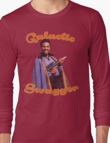 Galactic Swagger with Lando Calrissian Long Sleeve T-Shirt