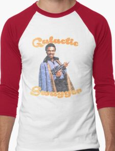 Galactic Swagger with Lando Calrissian Men's Baseball ¾ T-Shirt