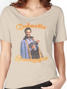 Galactic Swagger with Lando Calrissian Women's Relaxed Fit T-Shirt