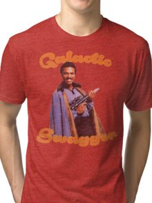 Galactic Swagger with Lando Calrissian Tri-blend T-Shirt