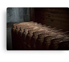 Rusted Radiator Canvas Print