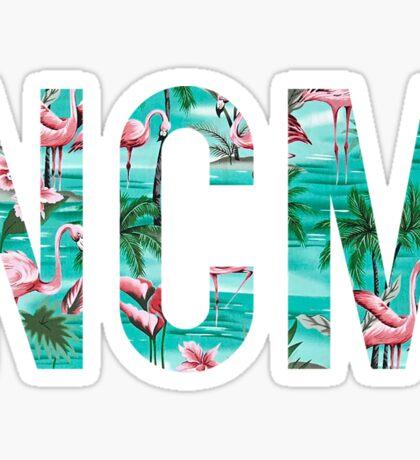 NCM - Tropical Flamigoes Sticker