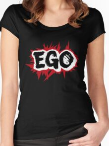 EGO Logo Women's Fitted Scoop T-Shirt