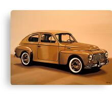 Volvo PV Painting Canvas Print