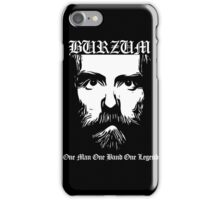 Burzum-One Man One Legend iPhone Case/Skin