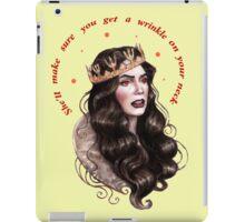 Who get a wrinkle iPad Case/Skin