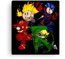 City Smash Bros. Canvas Print