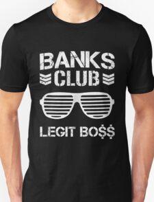 Banks Club: Legit Boss - WWE Sasha Banks x Bullet Club T-Shirt