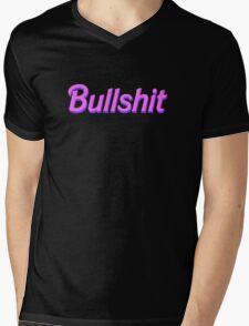 Bullshit Barbie Mens V-Neck T-Shirt