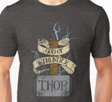 God Of Thunder Unisex T-Shirt
