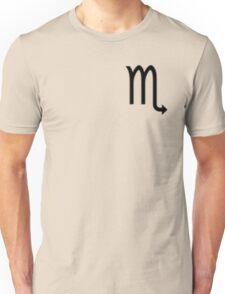 Scorpio Zodiac Symbol Standard Unisex T-Shirt