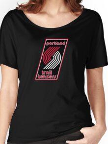 Portland Trail Blazers Retro  Women's Relaxed Fit T-Shirt