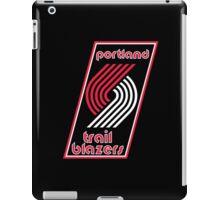 Portland Trail Blazers Retro  iPad Case/Skin
