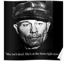 She's Back At the Farm Poster