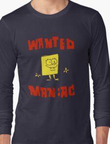 SpongeBob SquarePants Classic - Wanted Maniac Long Sleeve T-Shirt