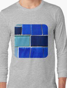 Blue Hues  Long Sleeve T-Shirt
