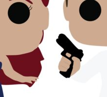 Spies are Forever - Curt & Tatiana Sticker