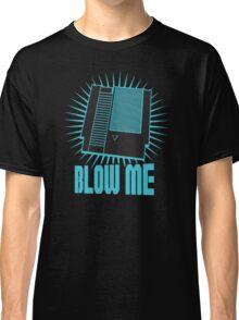 Nintendo Blow Me Cartridge Funny T-Shirt Classic T-Shirt