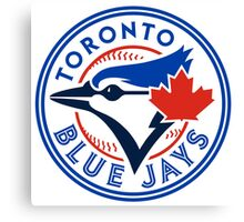 logo 2016 toronto blue jays logo Canvas Print