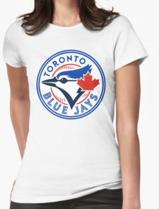 logo 2016 toronto blue jays logo Womens Fitted T-Shirt
