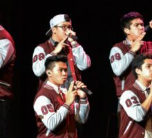 The Filharmonic; Sing-Off Tour Sticker