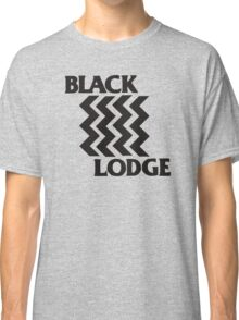 Twin Peaks Black Lodge Black Flag Parody Classic T-Shirt
