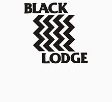 Twin Peaks Black Lodge Black Flag Parody Unisex T-Shirt