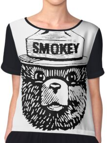 Smokey The Bear Chiffon Top