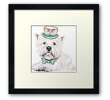 dog West Highland White Terrier Framed Print