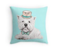 dog West Highland White Terrier Throw Pillow