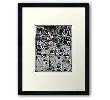 Sticky Framed Print