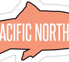 PNW Salmon Fish Sticker
