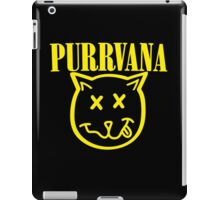 Purrvana Cat Parody iPad Case/Skin