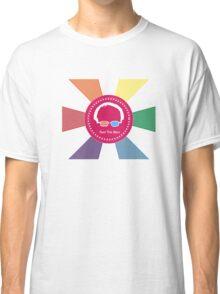 Bernie Sanders - Feel The Bern (Wow Rainbow) Classic T-Shirt