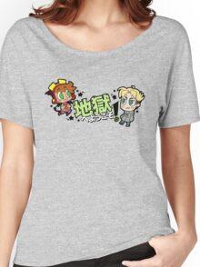 地獄へようこそ!- Chibi Sock & Jonathan Women's Relaxed Fit T-Shirt