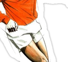 Johan Cruyff Sketch. Sticker