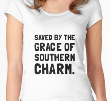 Saved Grace Southern Charm Women's Fitted Scoop T-Shirt