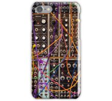 Moog Modular Synthesizer Control Panel iPhone Case/Skin