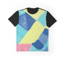 Colour block abstract artwork Graphic T-Shirt