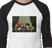 The Girls in the Back Row (Unlettered Logo) Men's Baseball ¾ T-Shirt