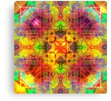 INTENT, REPETITION, INFINITE AWARENESS Canvas Print