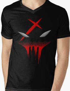 Teen Titans Red X Mens V-Neck T-Shirt