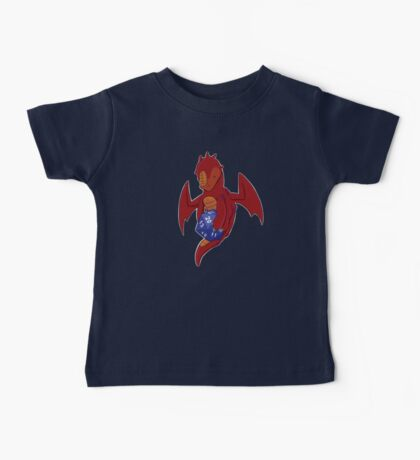 D20 Red Dragon Baby Tee