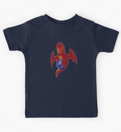 D20 Red Dragon Kids Tee