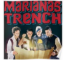 Astoria - Marianas Trench Poster